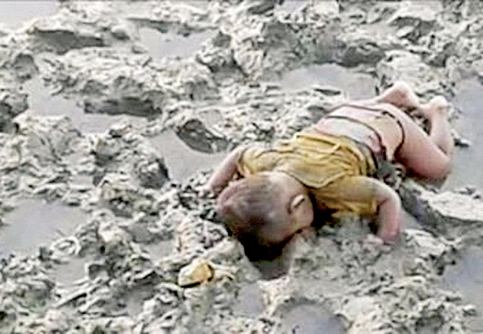 小難民伏屍泥灘