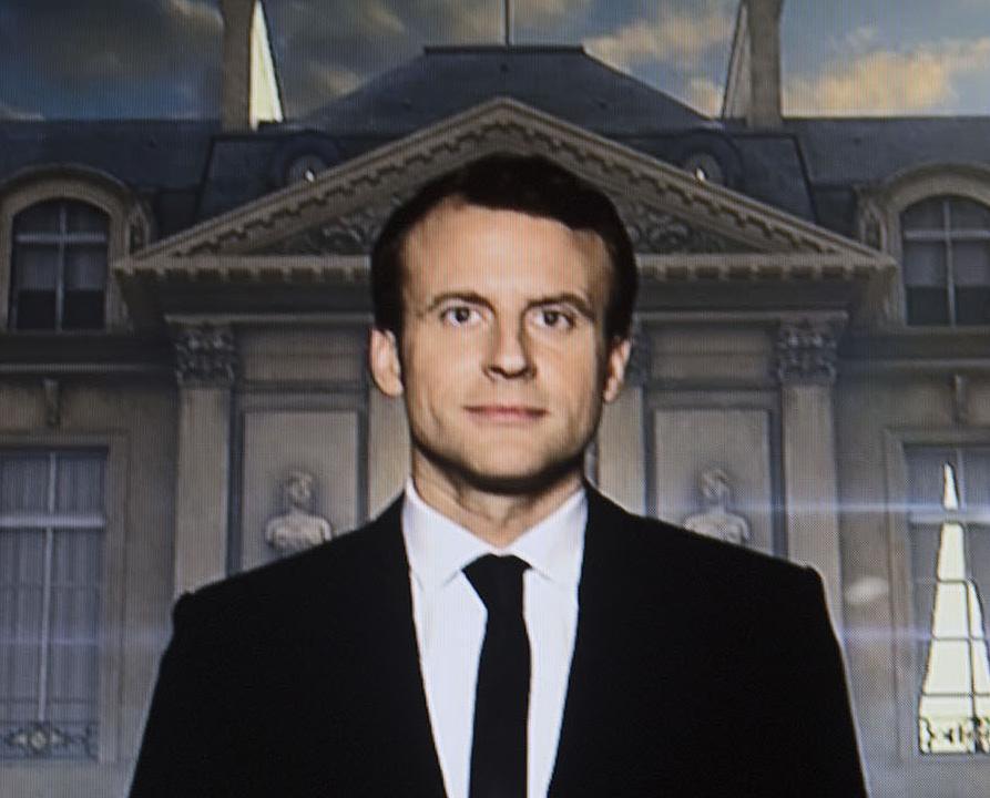 馬克宏:法國開啟希望的篇章