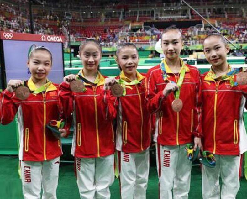 體操女團中國得第三