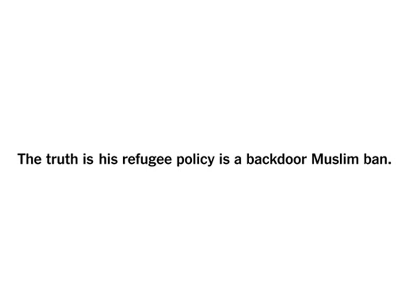 向特朗普討教「真相」