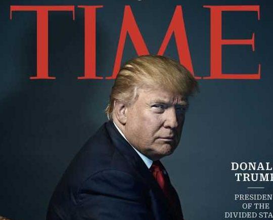 特朗普獲選《時代》年度人物