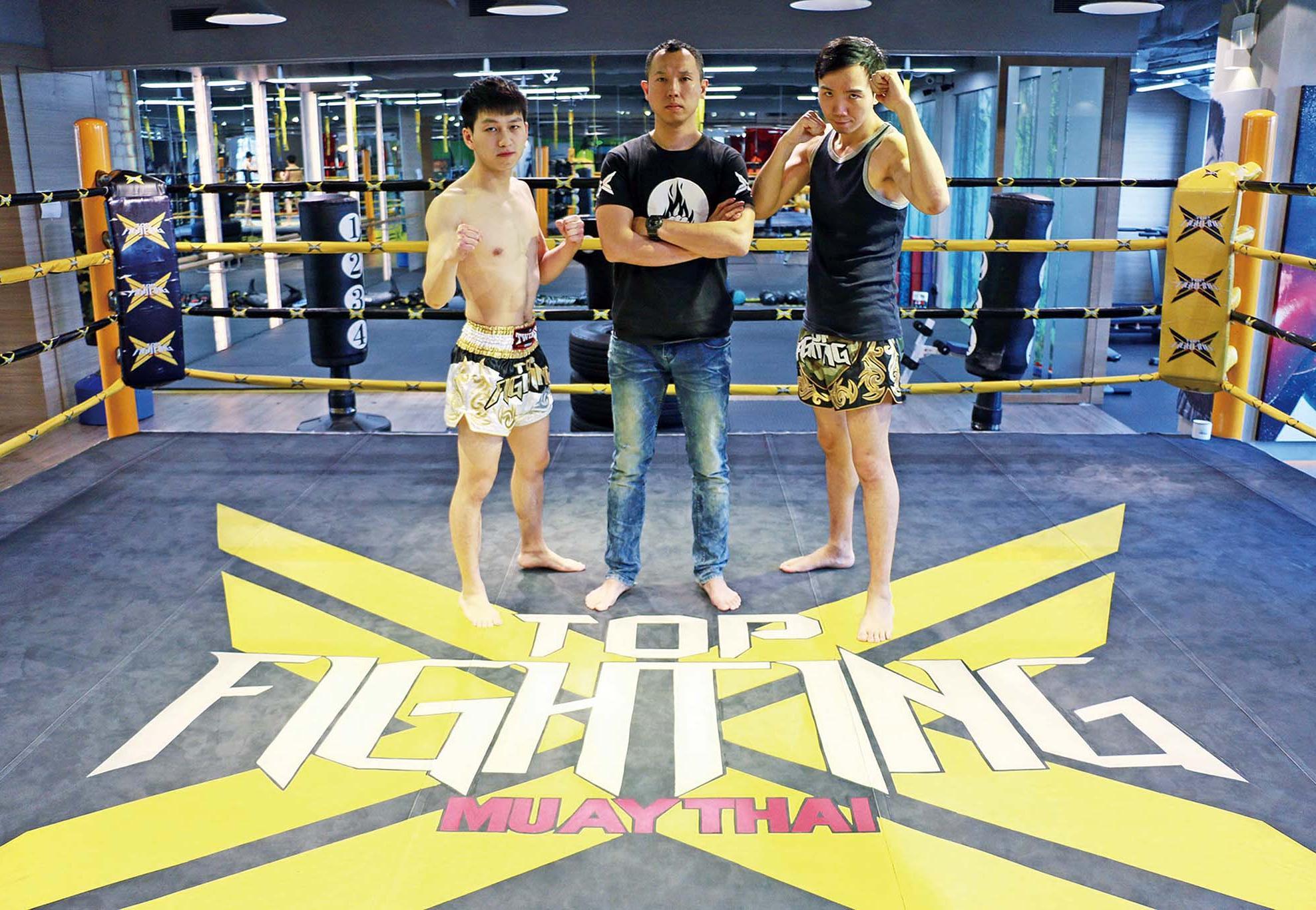 Top Fighting三子信心爆棚