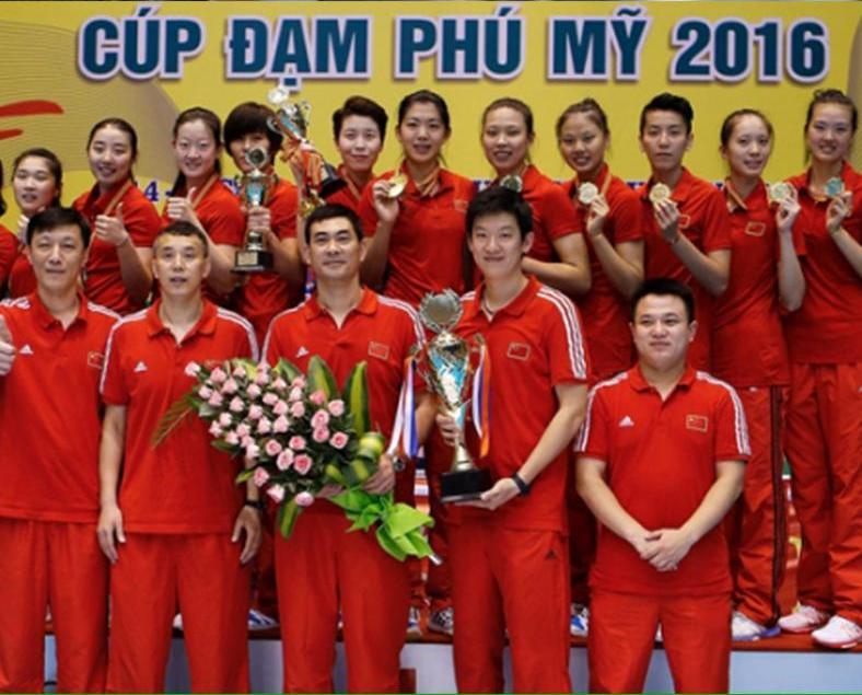 中國二隊捧女排亞洲盃