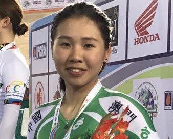 16歲區海欣單車亞錦賽奪季