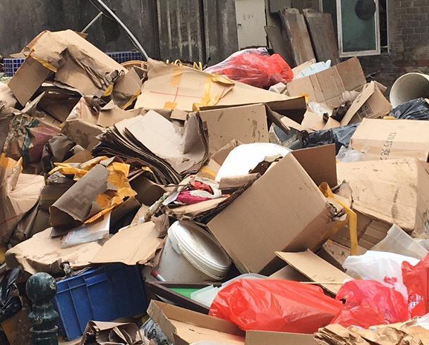 天鴿風暴至今共收集近萬噸垃圾