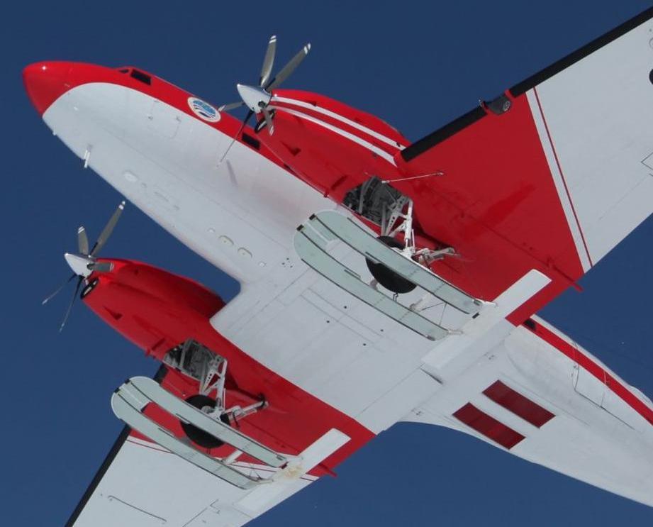 「雪鷹601」飛越南極最高區