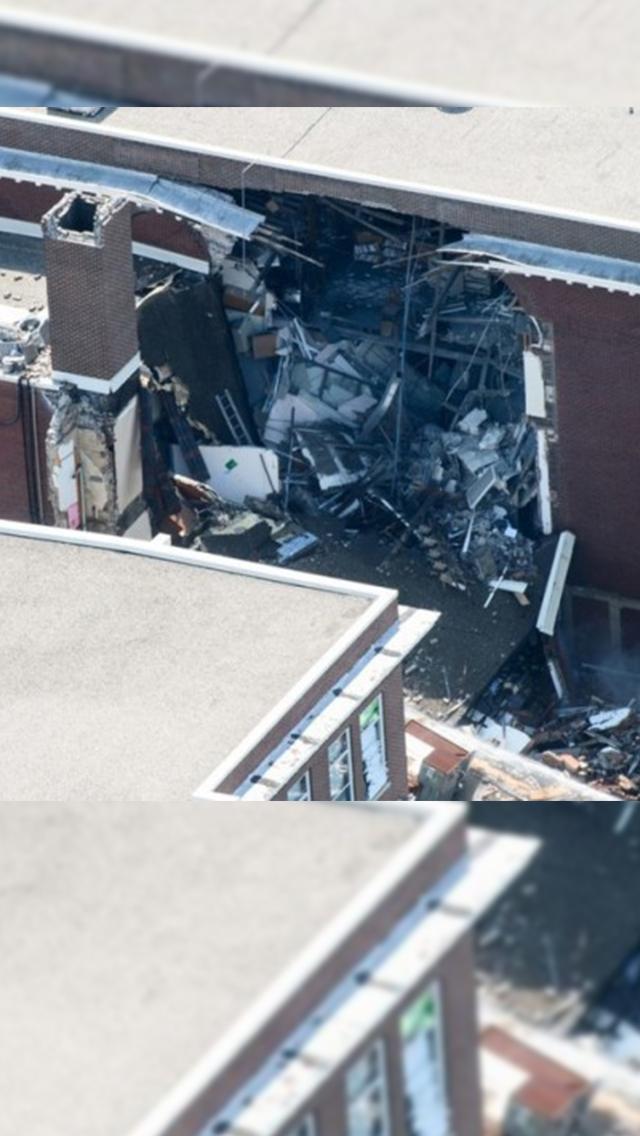美學校氣體爆炸一死一失蹤九傷