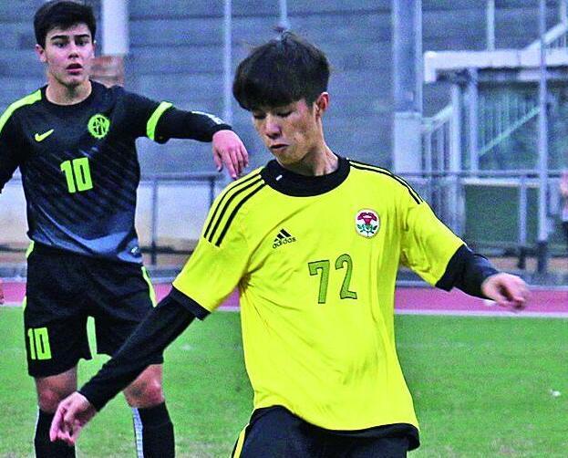 粵華學界足球A三連冠