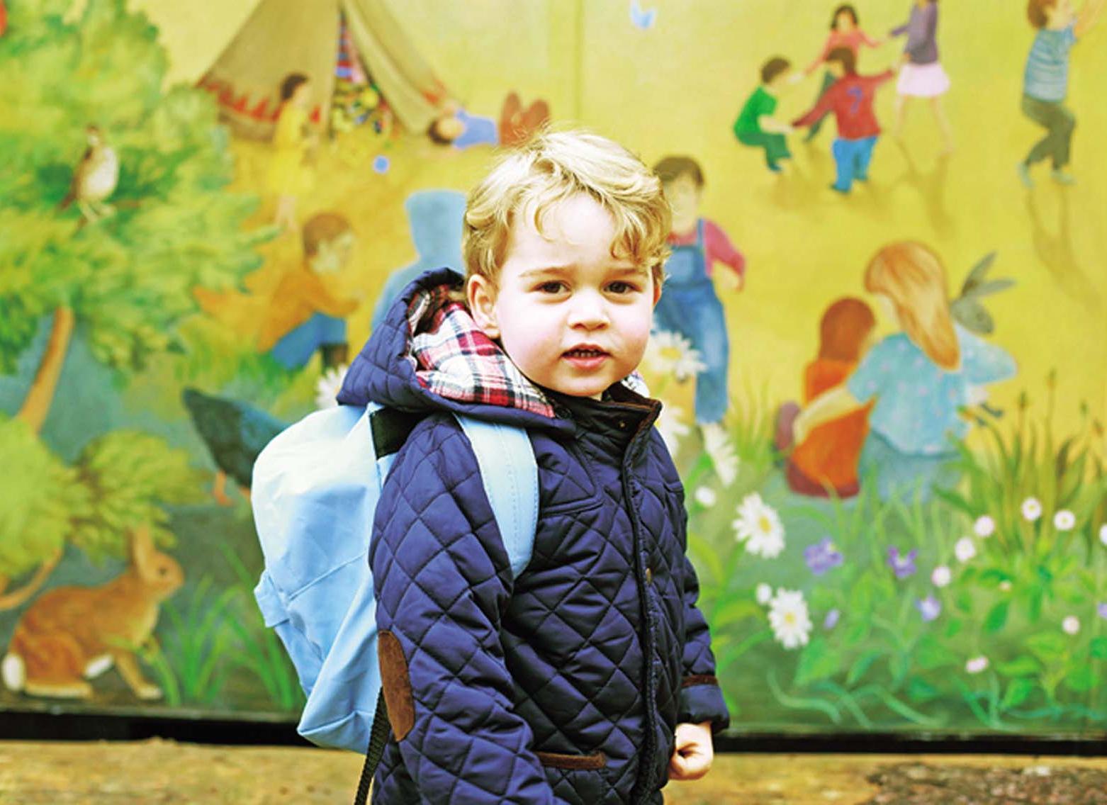 英喬治小王子開學