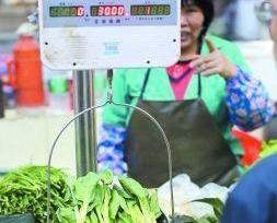 一公斤菜心50蚊