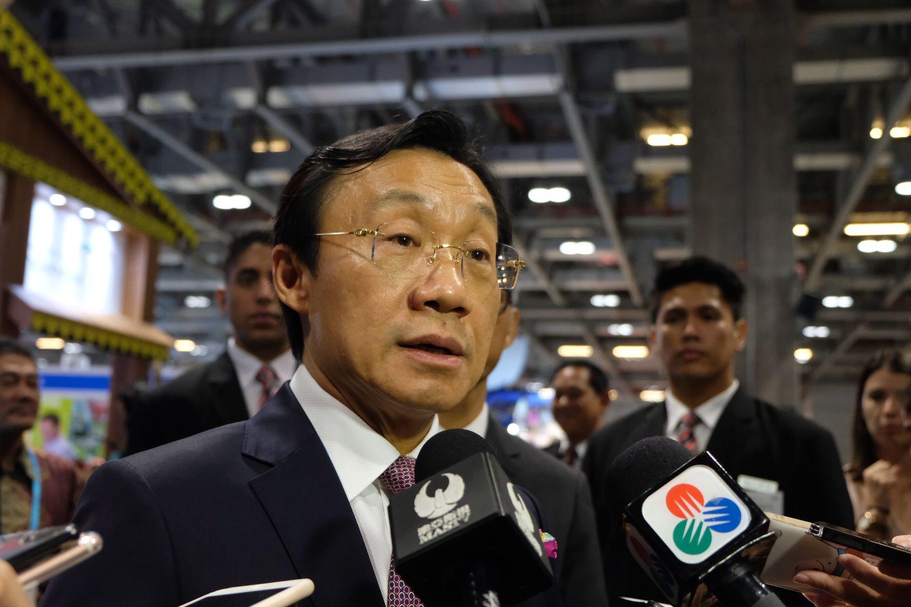譚俊榮對事件表示遺憾