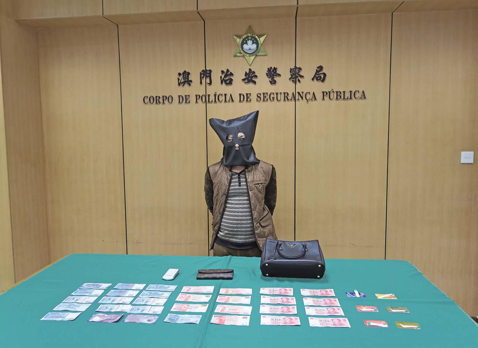 江西漢輸20萬賭場搶手袋