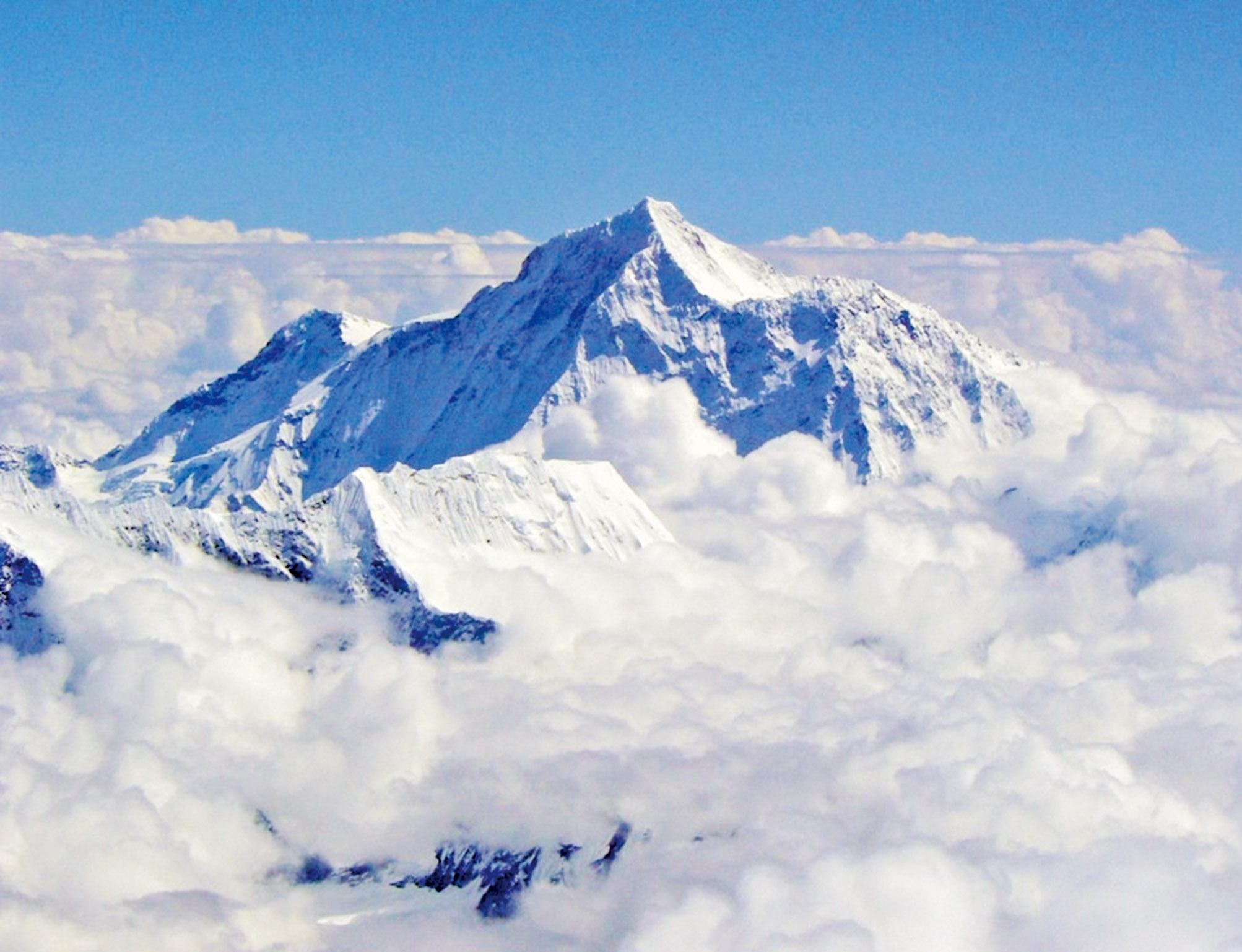 珠峰峰頂將有免費WIFI