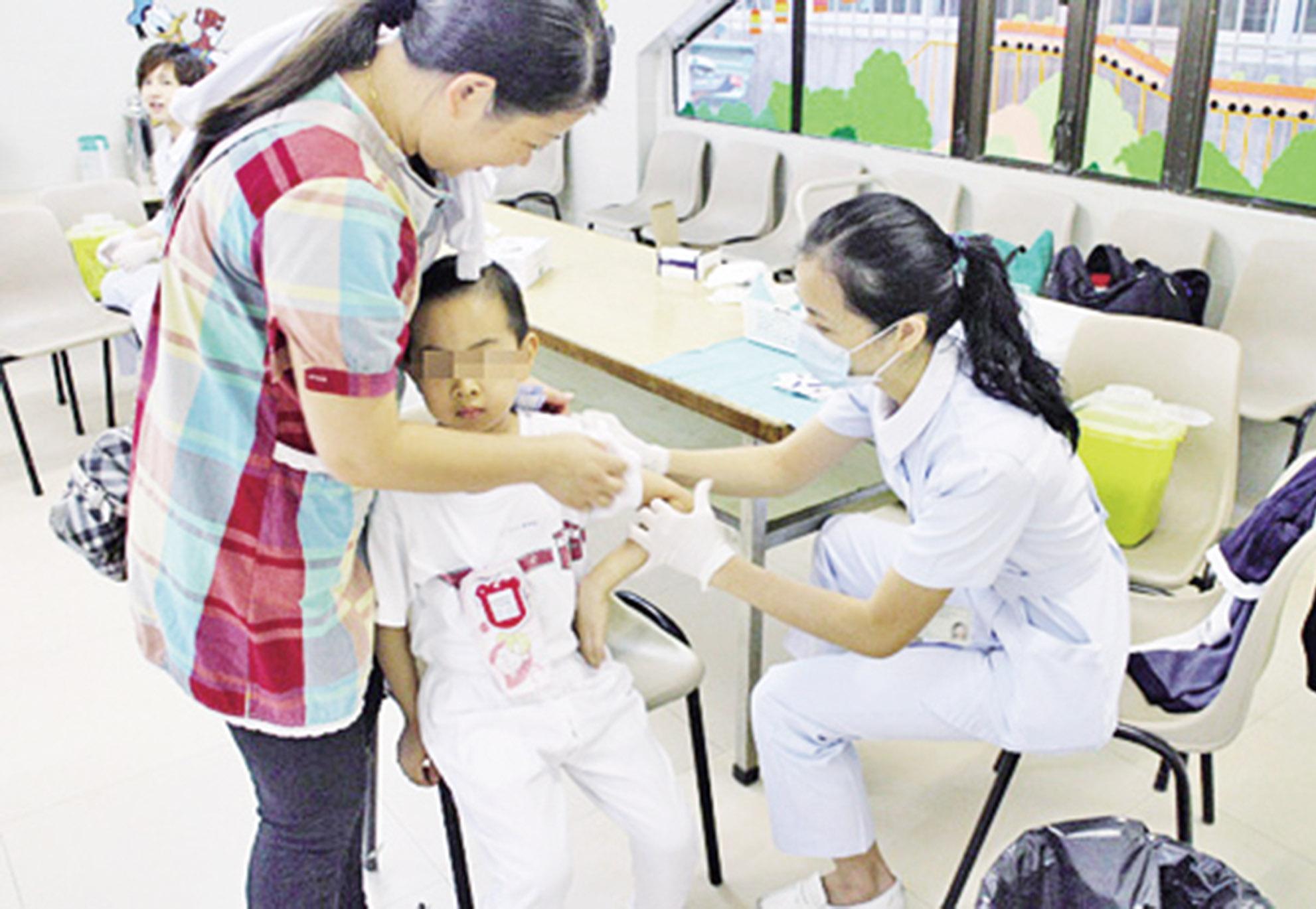 衛生局呼籲居民盡快接種疫苗
