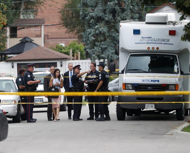 加拿大十字弓殺人案 三死一傷