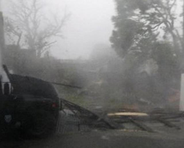 瑪麗亞吹襲波多黎各全島停電