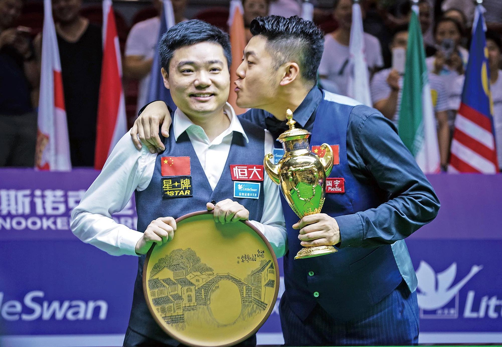 中國奪桌球世界盃