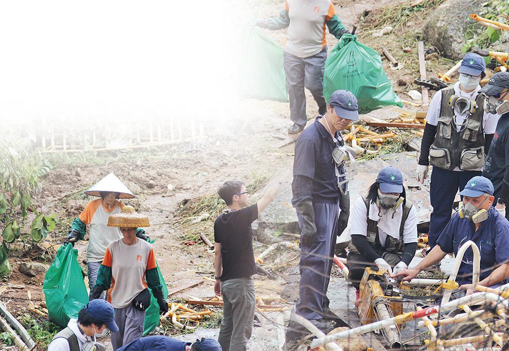 強力清理青洲山