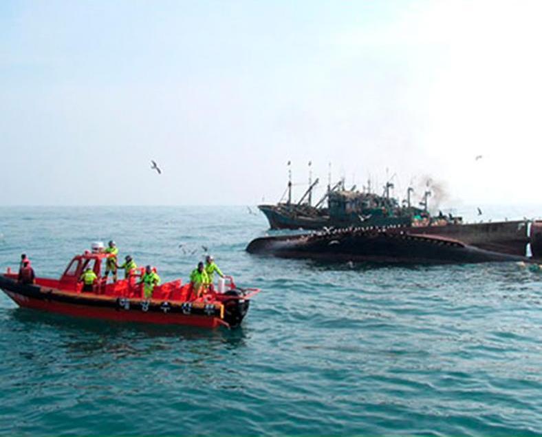 一艘中國漁船韓海域沉沒