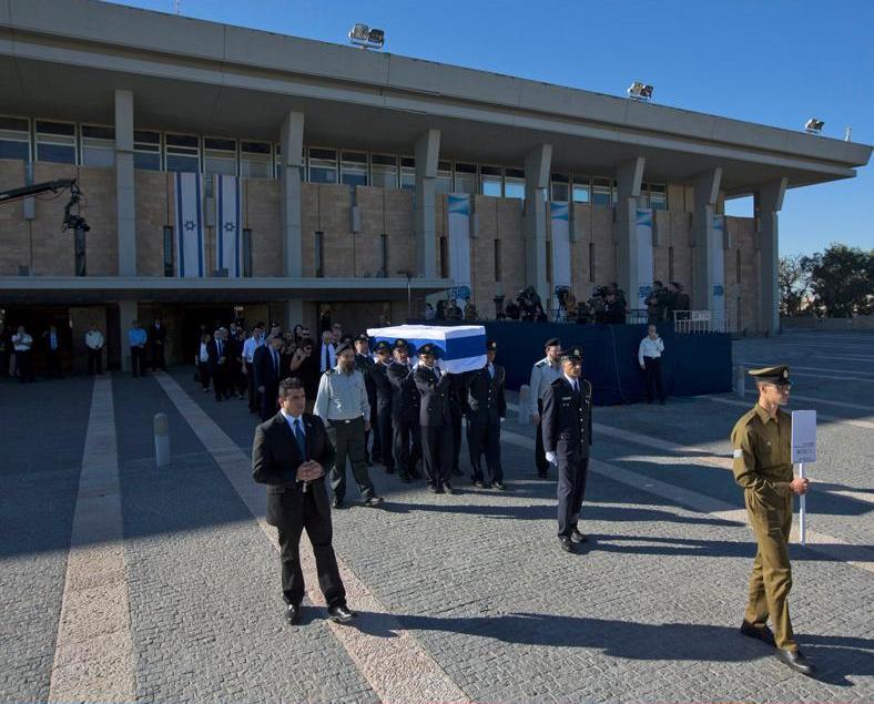 以國今舉行前總統佩雷斯國葬
