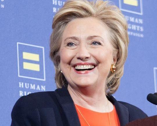 全美最大平權團體支持希拉莉