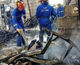 烏克蘭養老院起火17死