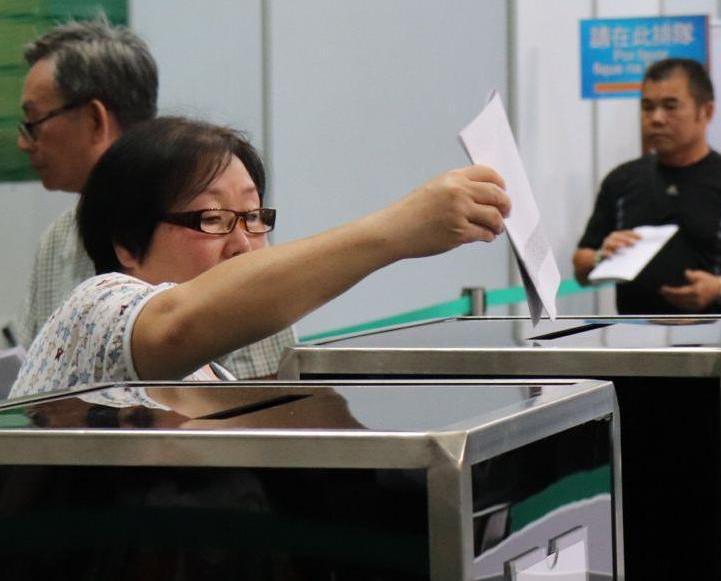 立法會選舉開始投票
