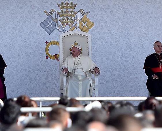 教宗墨美邊境主持彌撒