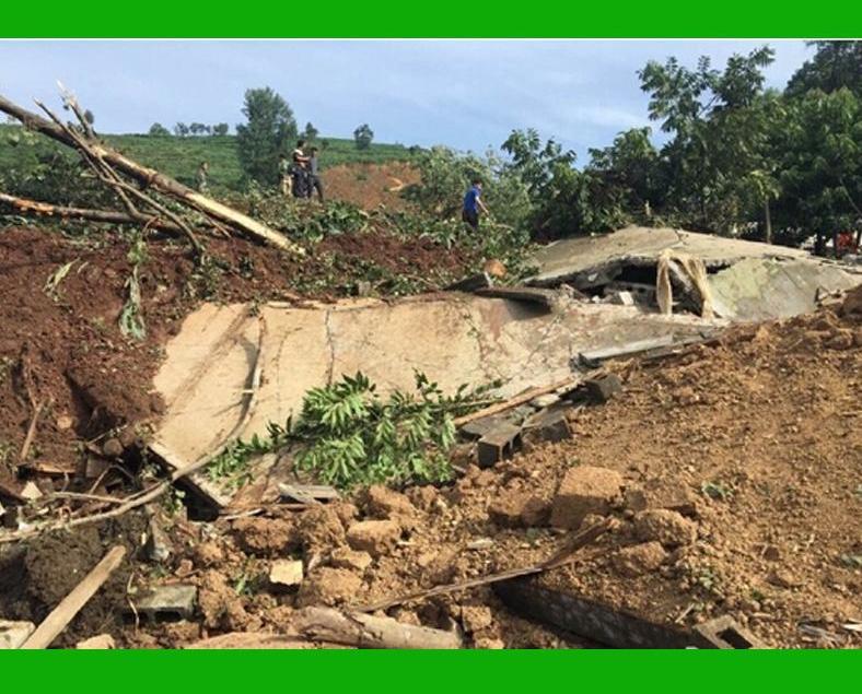 貴州暴雨引發山泥傾瀉29人被埋