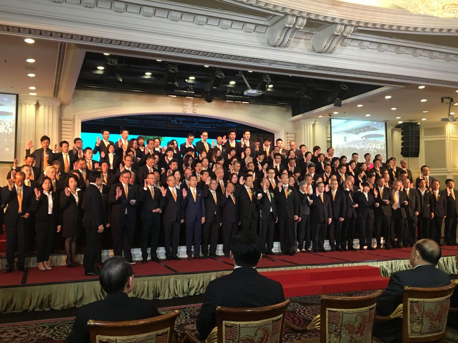 第17屆歸僑總會舉行就職禮