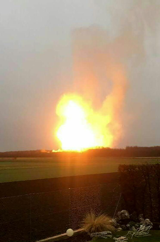 奧地利天然氣倉庫爆炸一死18傷