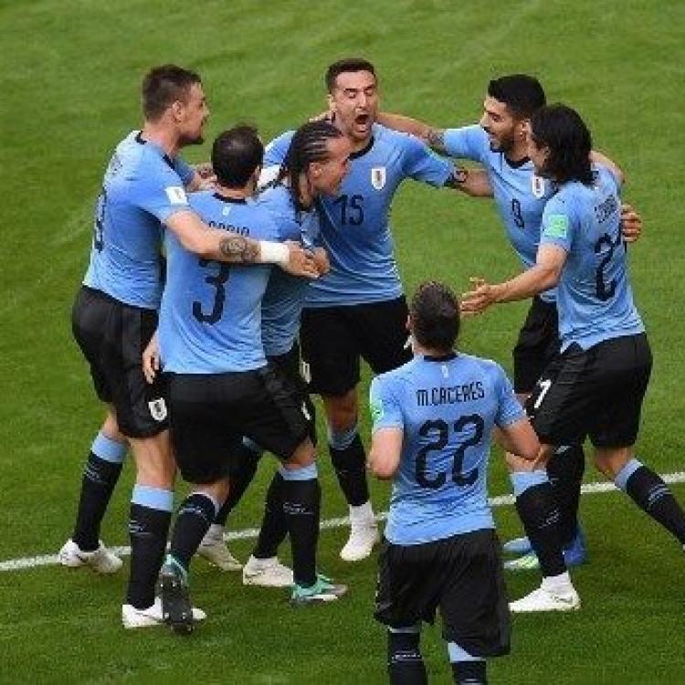 烏拉圭全勝勇奪A組頭名(有片)