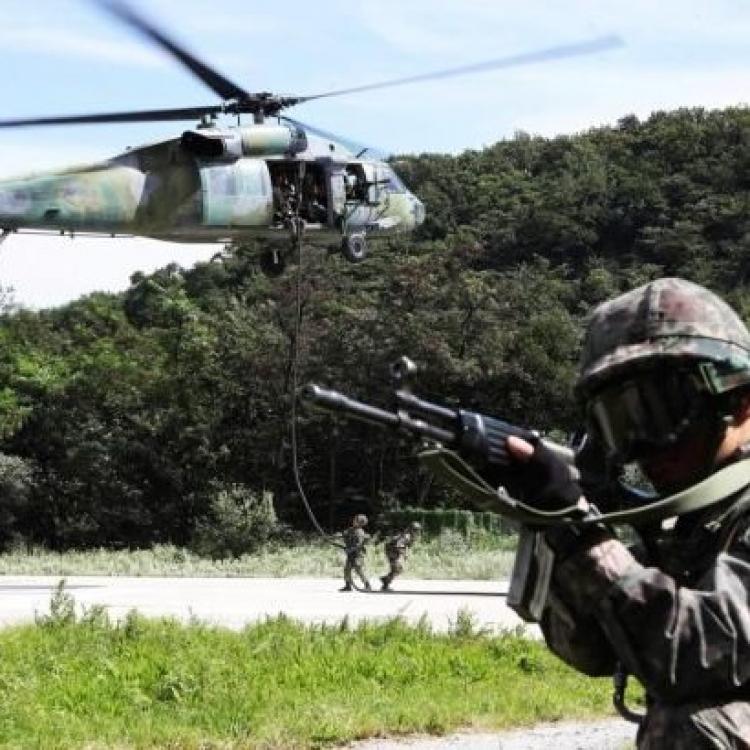 韓國軍方首次推遲「太極」軍演