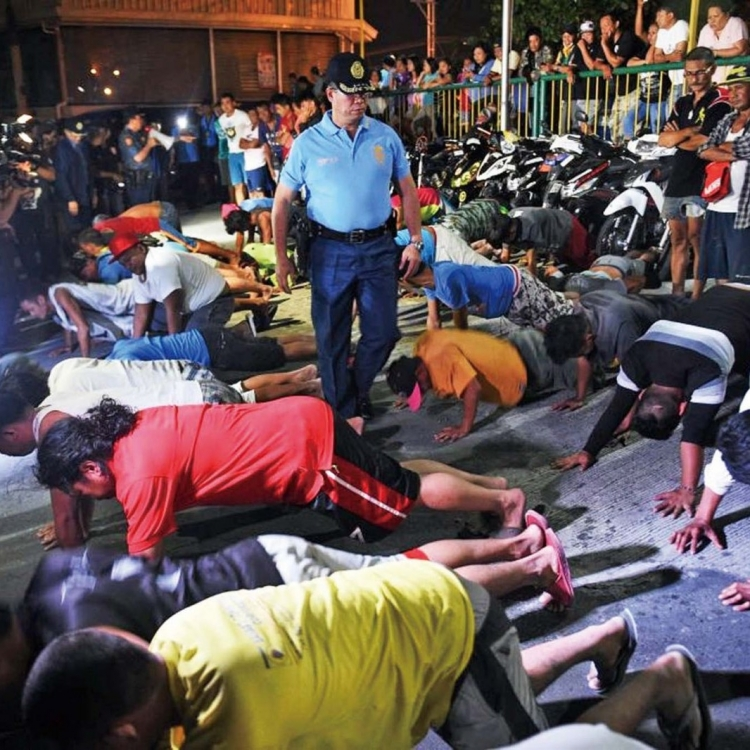 菲國五天拘5,575閒民