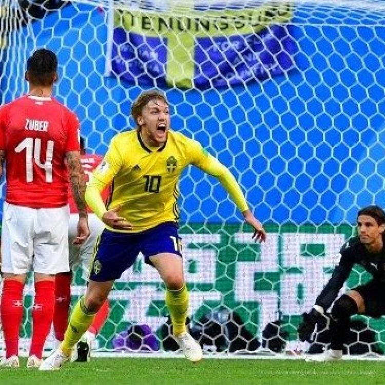 瑞典有運晉級八強(有片)