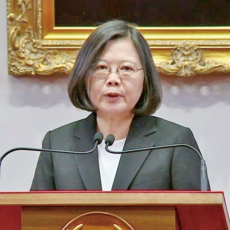蔡英文:年金破產危機解除