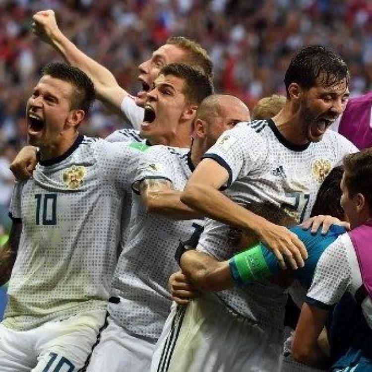 俄羅斯互射12碼爆冷淘汰西班牙(有片)