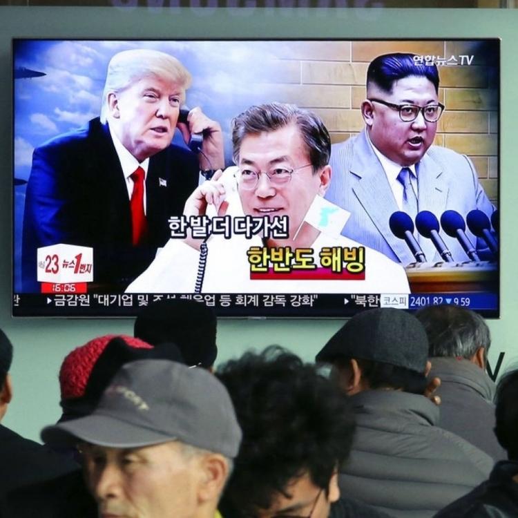 文在寅稱或舉行美韓朝首腦會談