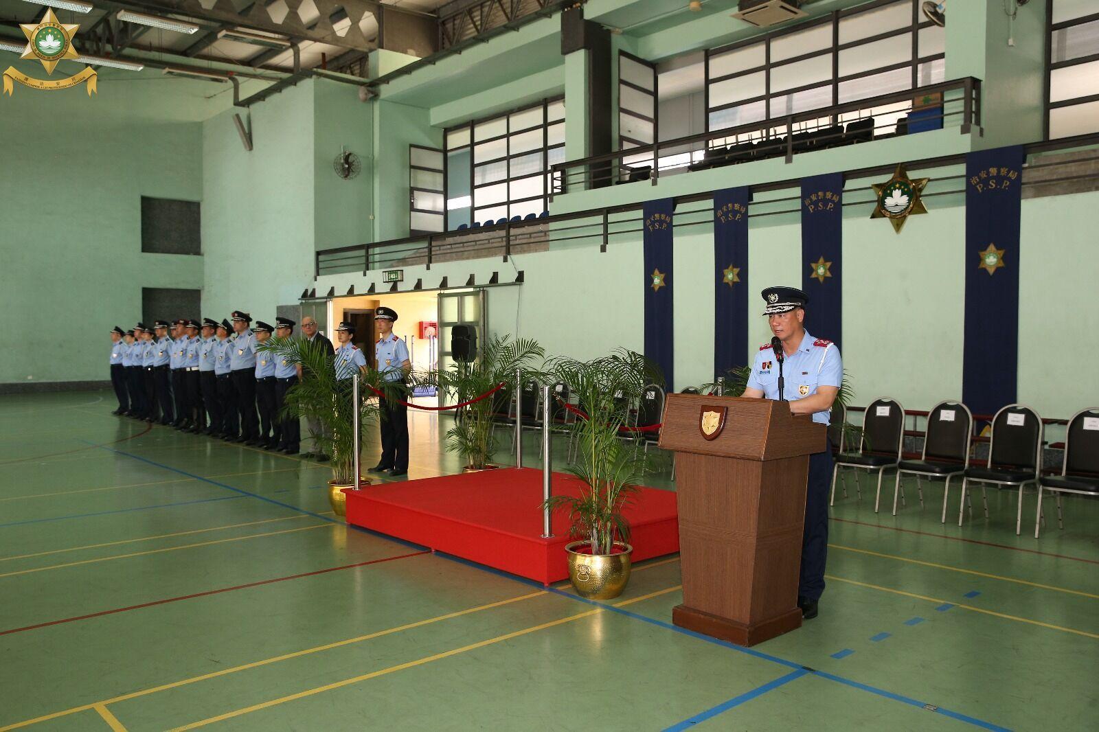 治安警晉升54名首席警員
