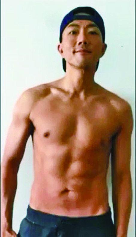 劉浩龍公開減肥全紀錄