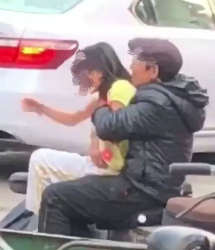 珠海女童當街遭老漢強抱猥褻