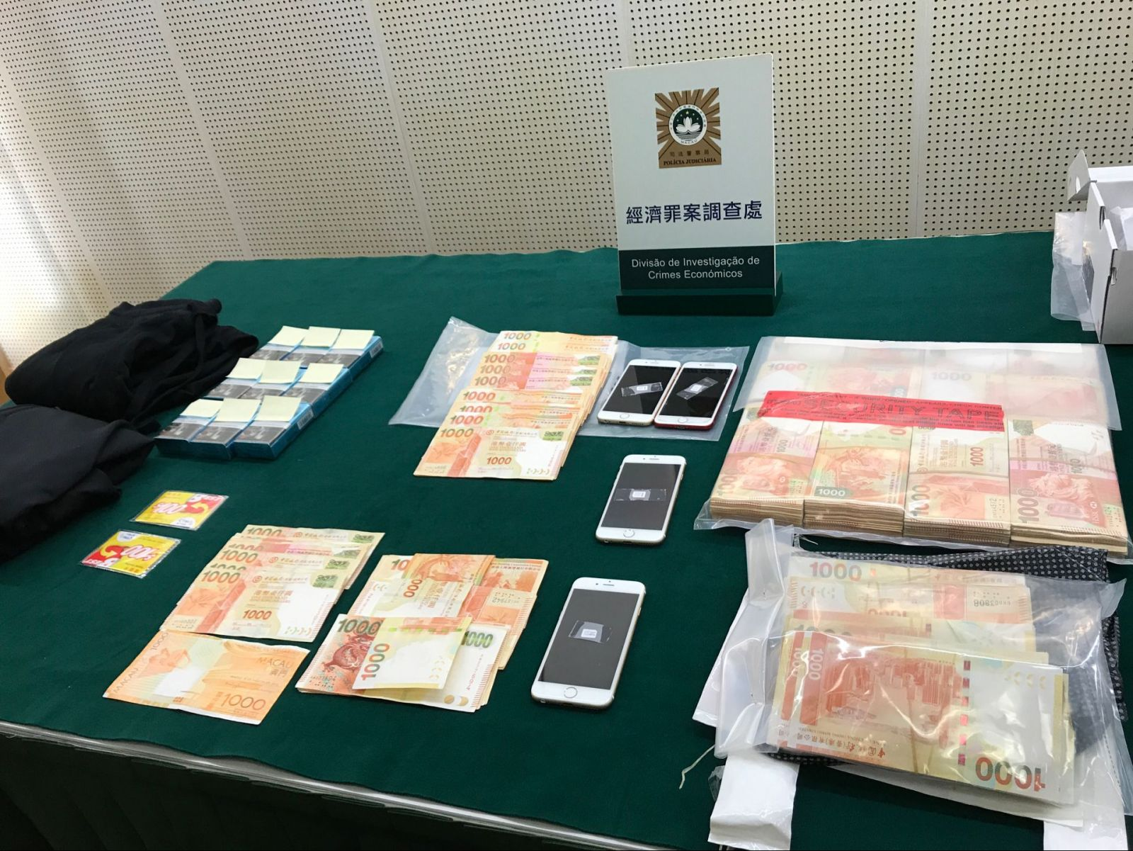 司警迅速破案起回大部分贓款