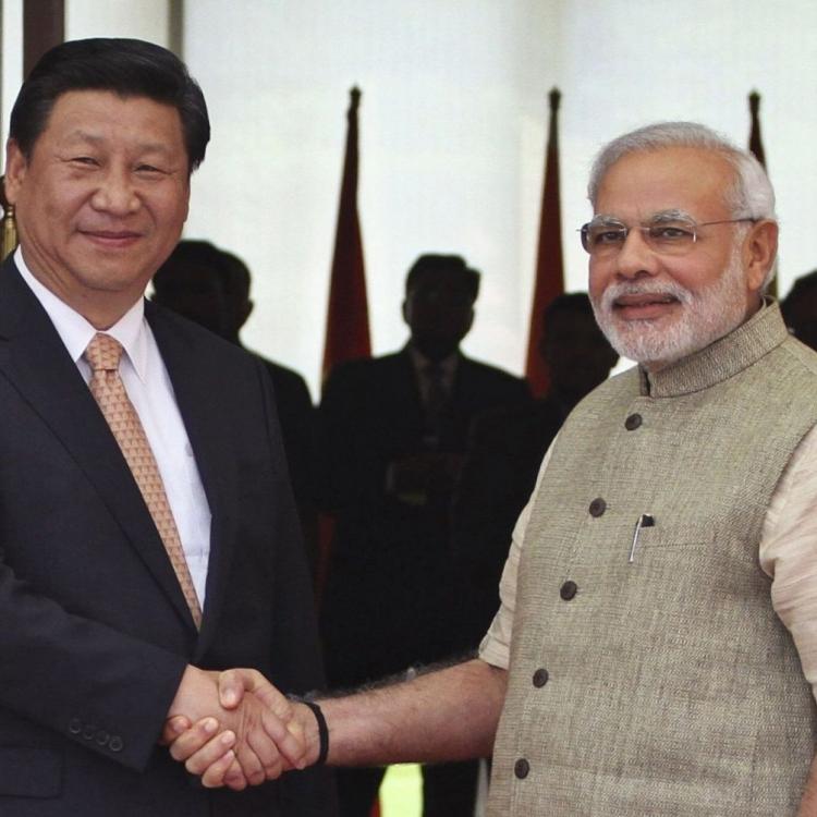 習近平武漢晤印度總理莫迪