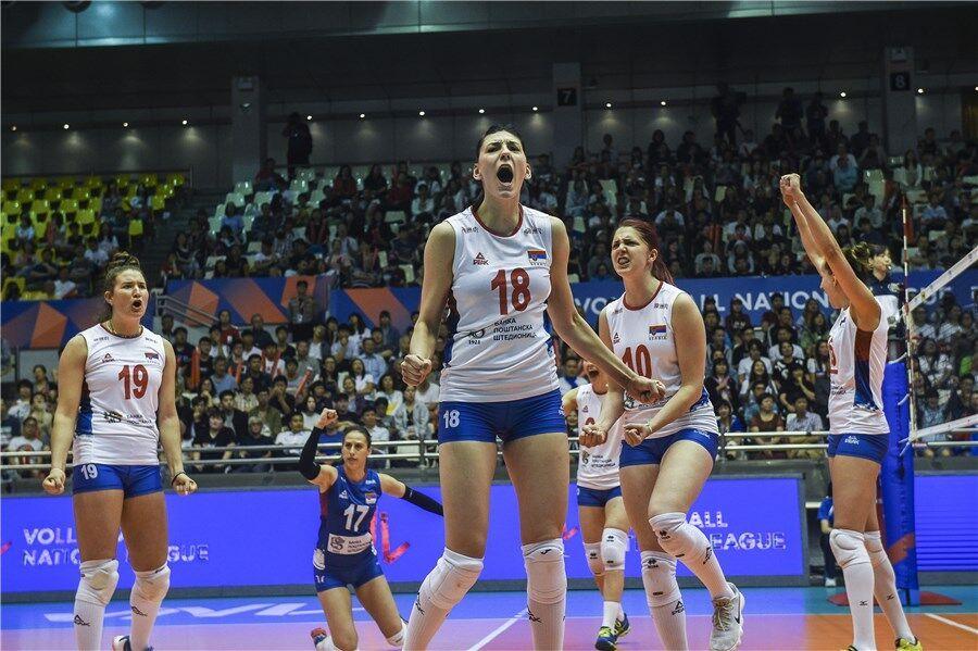 塞爾維亞旗開得勝贏泰國