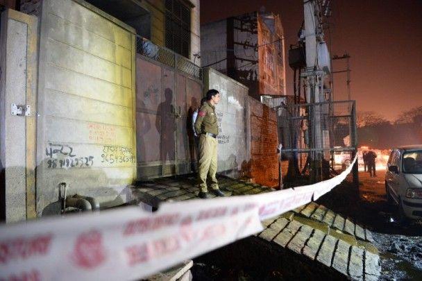 印度首都炮竹廠大火至少17死