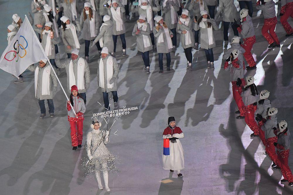 選手禁持國旗出席閉幕禮