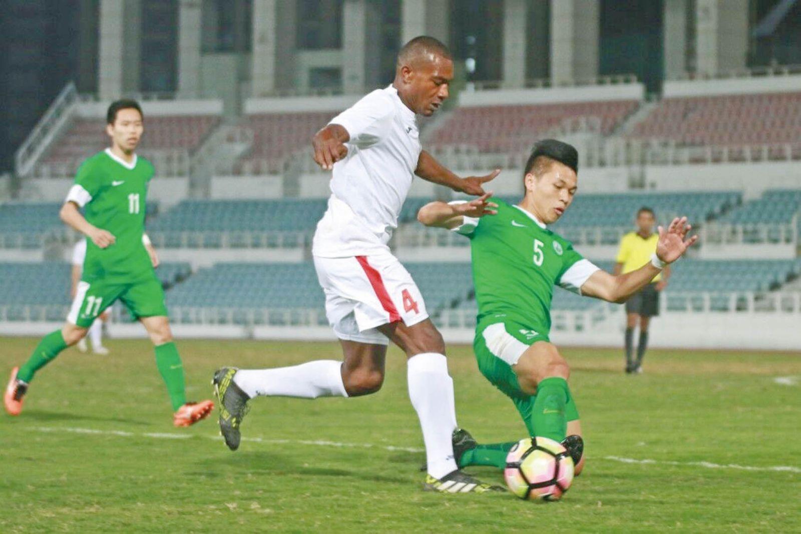 澳足亞洲盃外圍賽最後一戰鬥緬甸