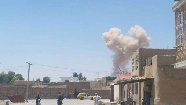 汽車炸彈爆炸釀21死40傷