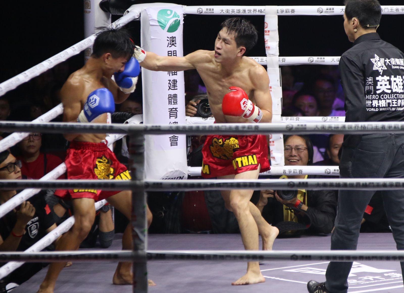 澳門拳手勝出多項錦標