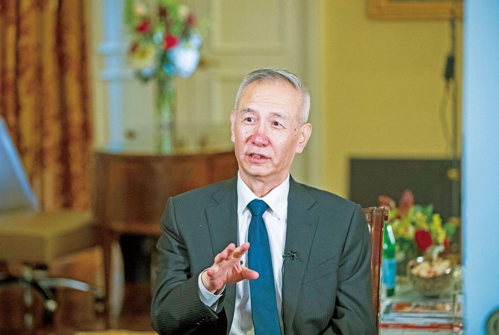 劉鶴:中美不打貿易戰